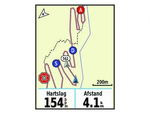 Garmin Group track